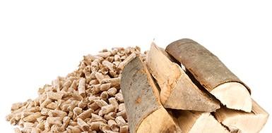 Plaquettes et granulés de bois