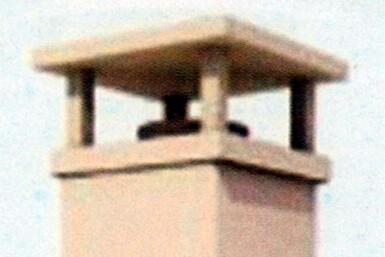 sortie de toit - cheminée